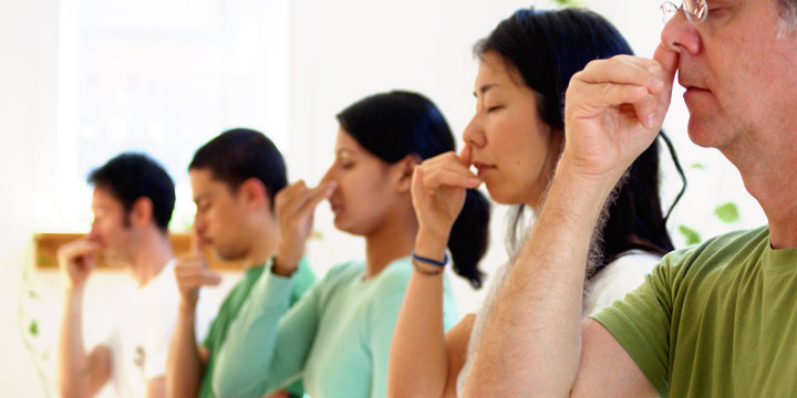 alternative nostril breathing Pranayama (or breathing practice) is one of the 8 limbs of yoga it is commonly used at the beginning or end of an asana (physical) practice.